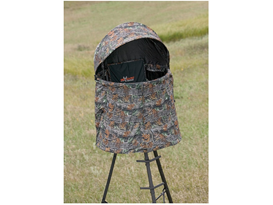 Big Game The Cover-All Treestand Blind Nylon Matrix Camo