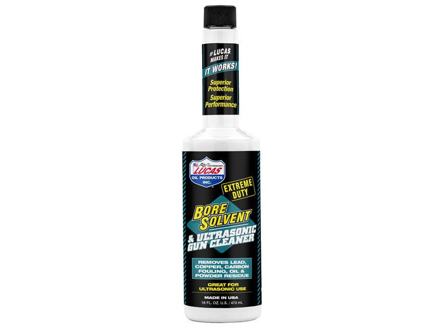 Lucas Oil Extreme Duty Bore Solvent and Ultrasonic Gun Cleaner Liquid