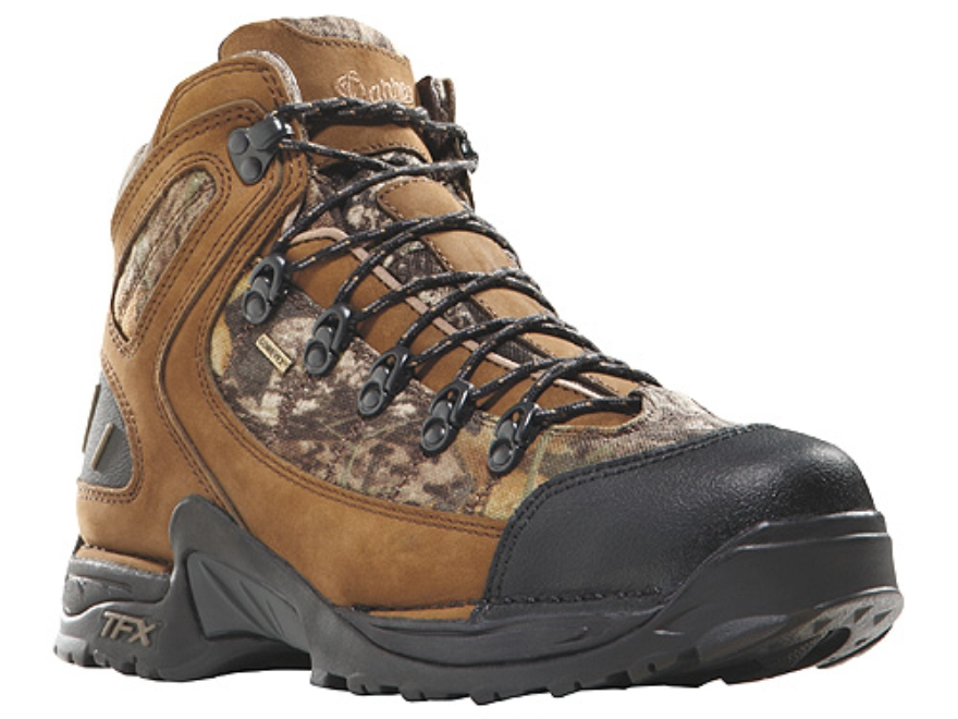 """Danner 453 GTX 5-1/2"""" Waterproof Uninsulated Hunting Boots Leather and Nylon Mossy Oak ..."""