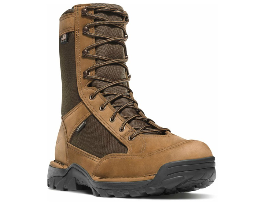 "Danner Ridgemaster 8"" Waterproof Uninsulated Hunting Boots Leather and Nylon Brown Men'..."