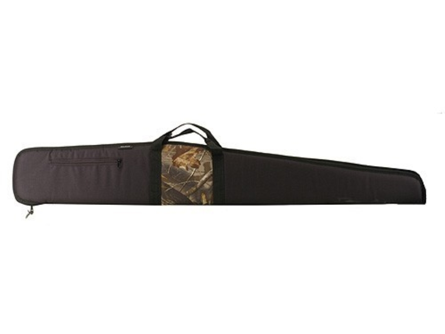 "Bulldog Shotgun Gun Case with Pocket 52"" Black and Camo"