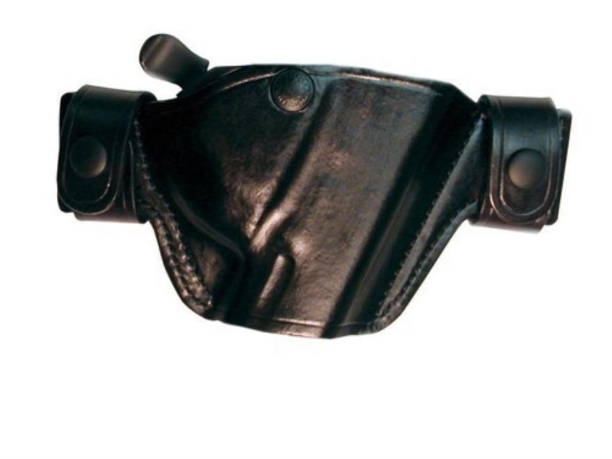 Bianchi 84 Snaplok Holster Right Hand 1911 Officer Leather Black
