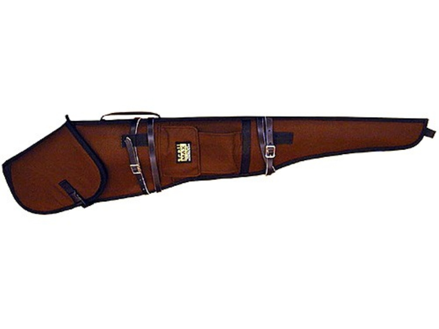 "Crooked Horn Trailmax Guardian Scoped Rifle Scabbard 26"" Barrel Nylon Brown"