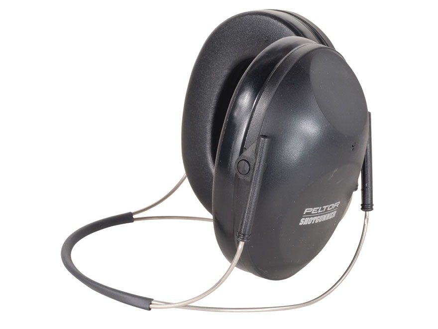 Peltor ShotGunner Behind the Head Earmuffs (NRR 19dB) Black