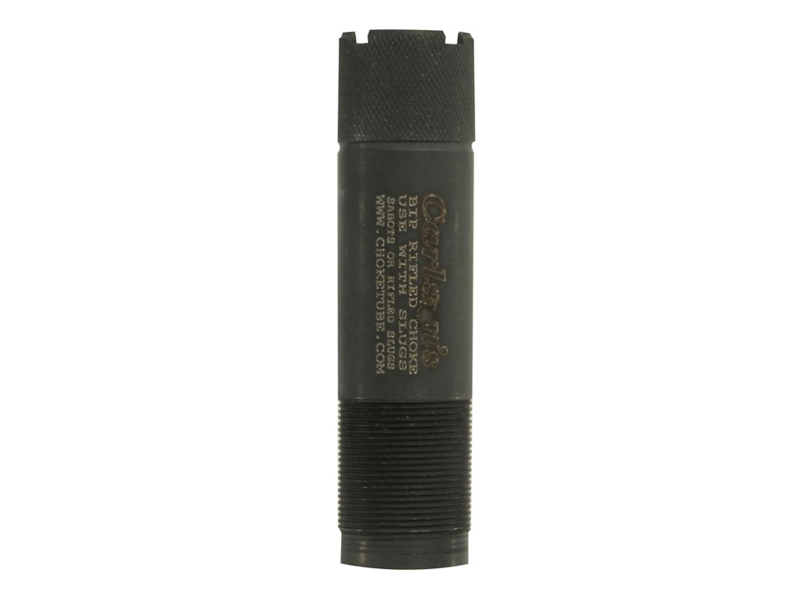 Carlson's Extended Rifled Choke Tube Browning Invector Plus 20 Gauge Black