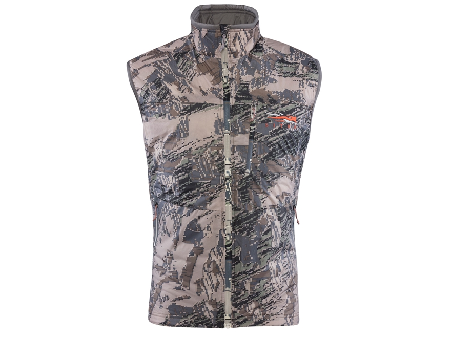 Sitka Gear Men's Kelvin Lite Insulated Vest Polyester Gore Optifade Open Country Camo 2XL
