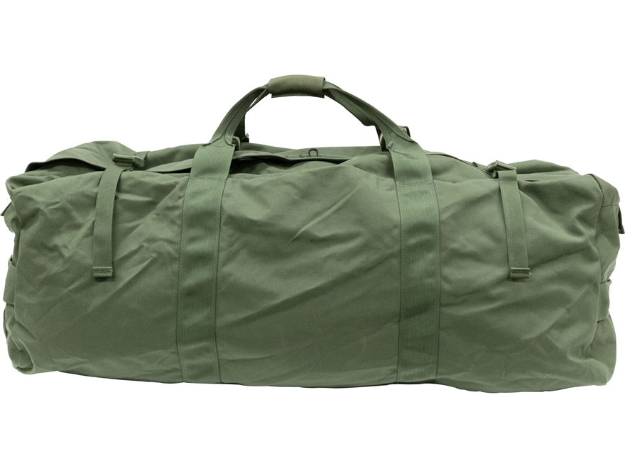 Military Surplus Improved Duffel Bag Olive Drab