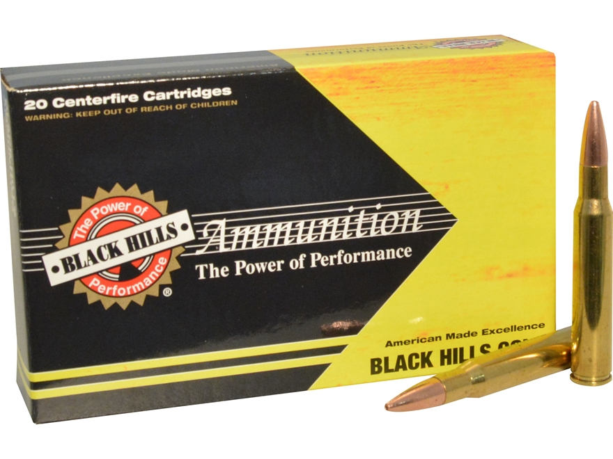 Black Hills Gold Ammunition 30-06 Springfield 180 Grain Barnes TSX Box of 20