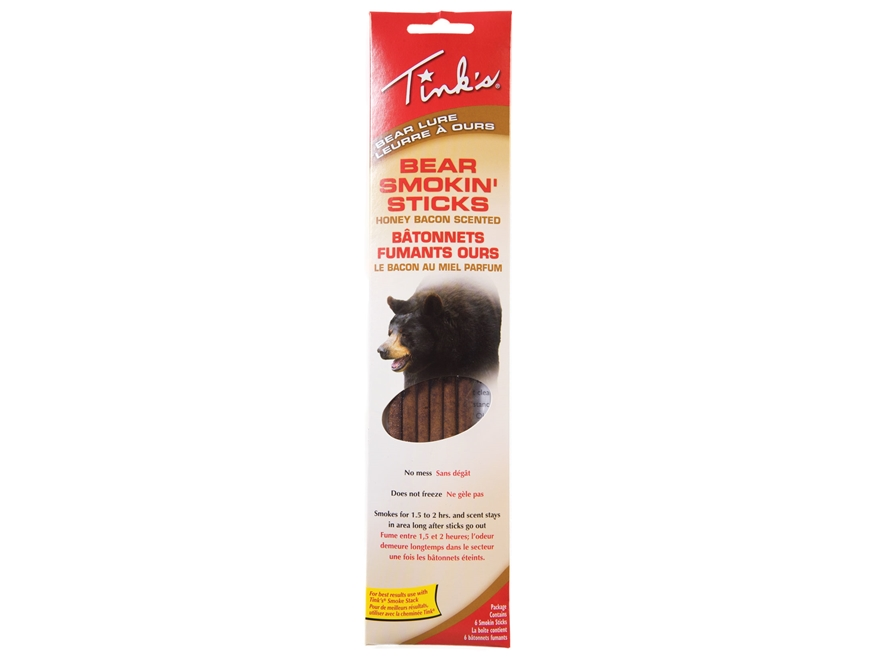 Tink's Smokin' Sticks Bear Scent Pack of 6