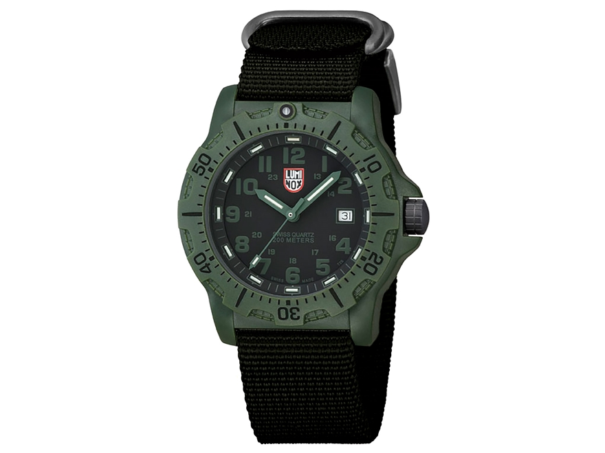 Luminox Black Ops Analog Tactical Watch Polymer/Nylon Green/Black