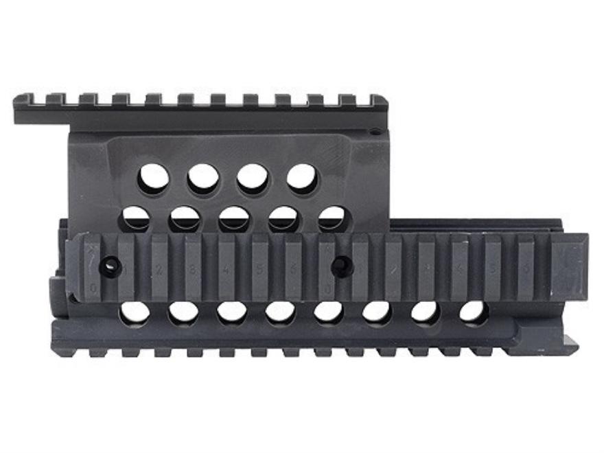 Krebs Custom Guns Picatinny-Style Quad-Rail Handguard AK-47, AK-74 Aluminum Matte