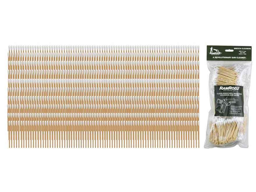 RamRodz Cotton Breech Cleaning Swabs Pack of 800