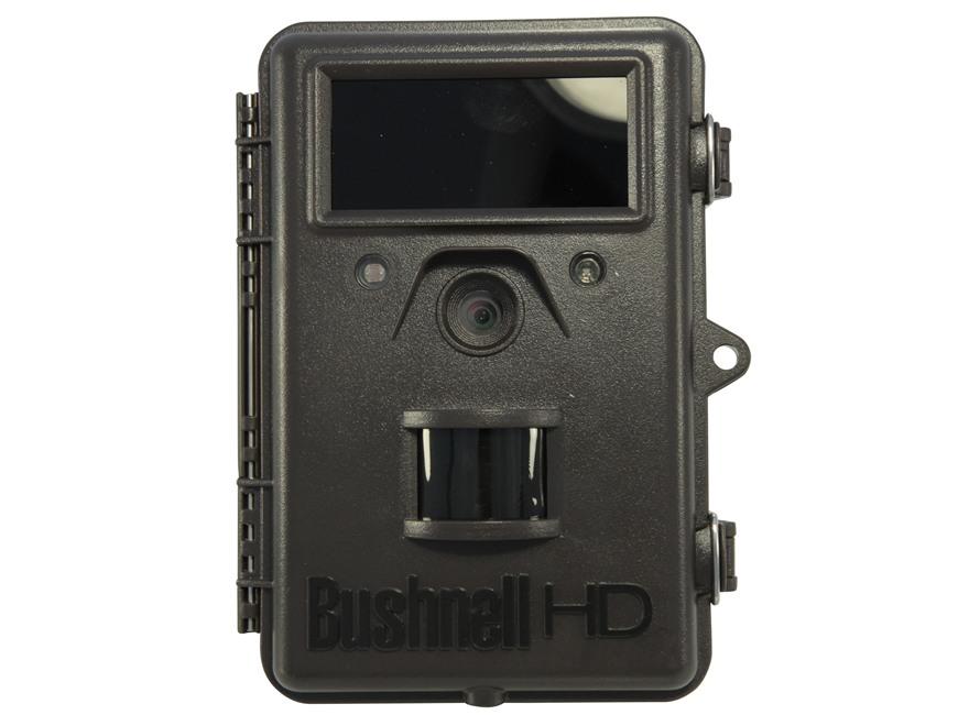 Bushnell Trophy Cam HD Max Hybrid Black Flash Infrared Game Camera 8.0 Megapixel Brown