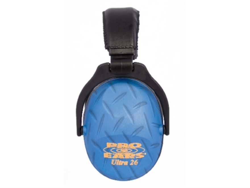 Pro Ears ReVO Earmuffs (NRR 26 dB) Blue Diamond Plate
