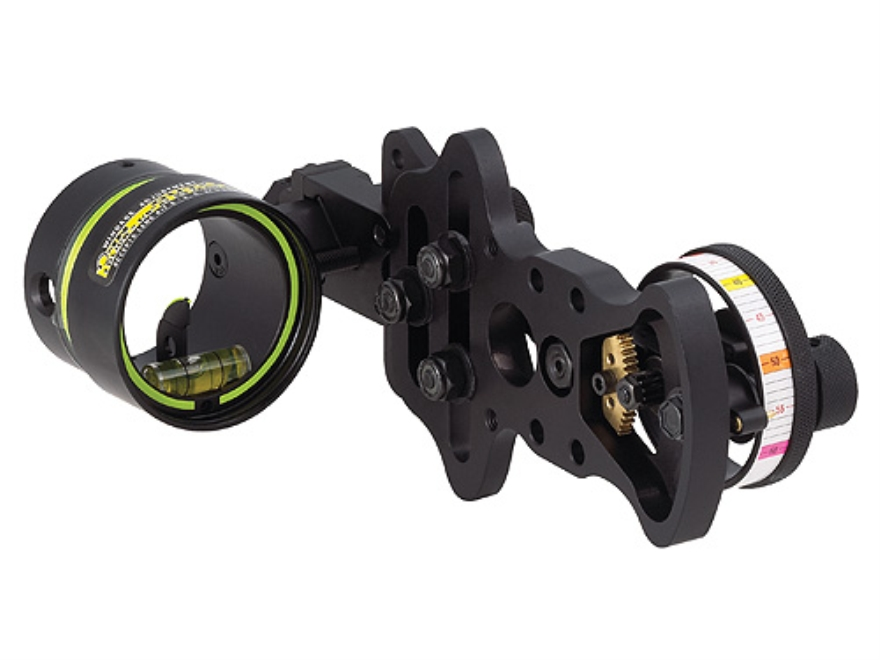 "HHA Sports Optimizer Lite Ultra DS-5510 1-Pin Bow Sight .010"" Pin Diameter Right Hand A..."