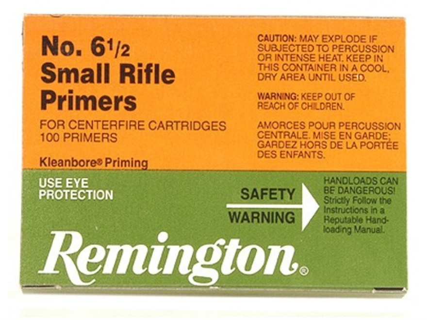 Remington Small Rifle Primers #6-1/2