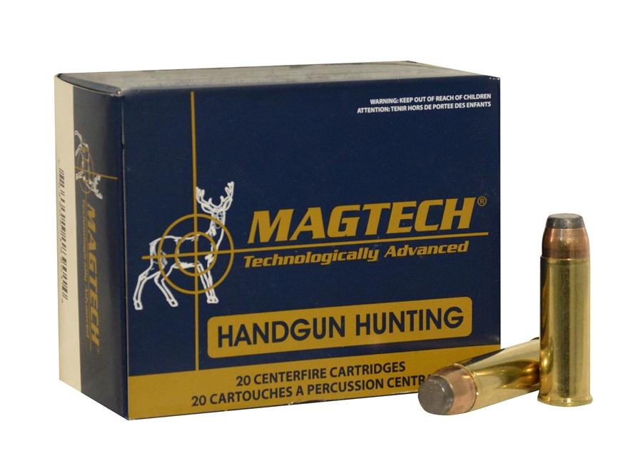Magtech Sport Ammunition 454 Casull 240 Grain Semi-Jacketed Soft Point Box of 20