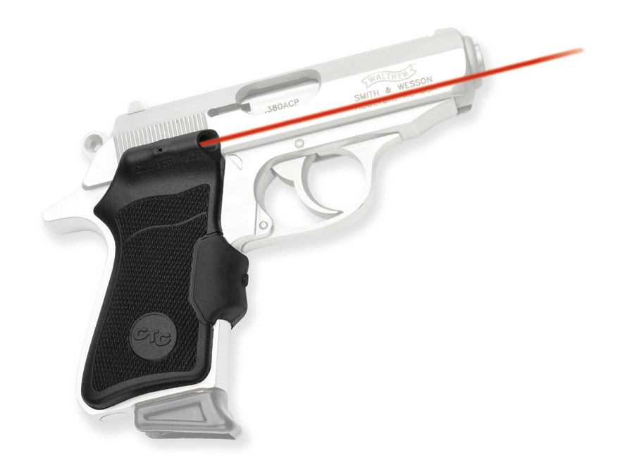 Crimson Trace Lasergrips Walther PP, PPK/S Polymer Black