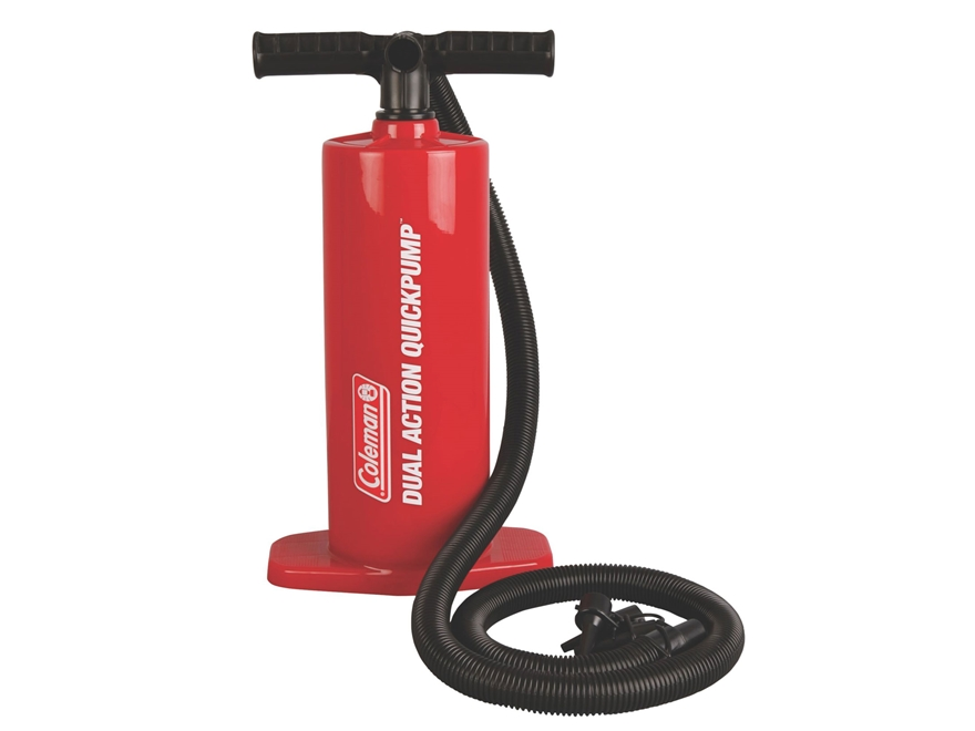 Coleman QuickPump Dual Action Manual Air Pump Red