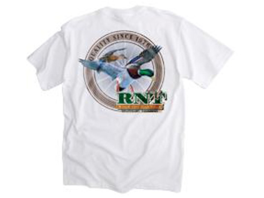 RNT Men's Duck T-Shirt Short Sleeve Cotton White 2XL
