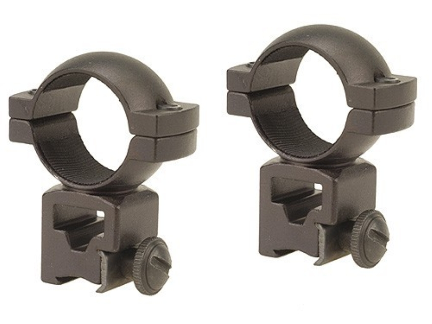 "Barska 1"" Rings 22 Rimfire and Airgun Matte"