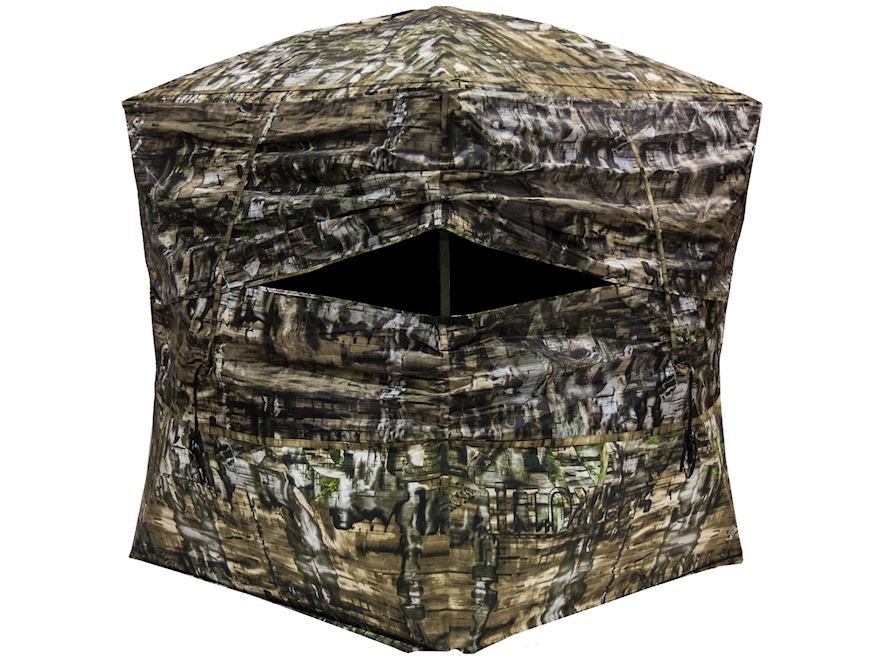 "Primos Double Bull Surroundview 360 Ground Blind 77"" x 77"" x 70"" Polyester Truth Camo"