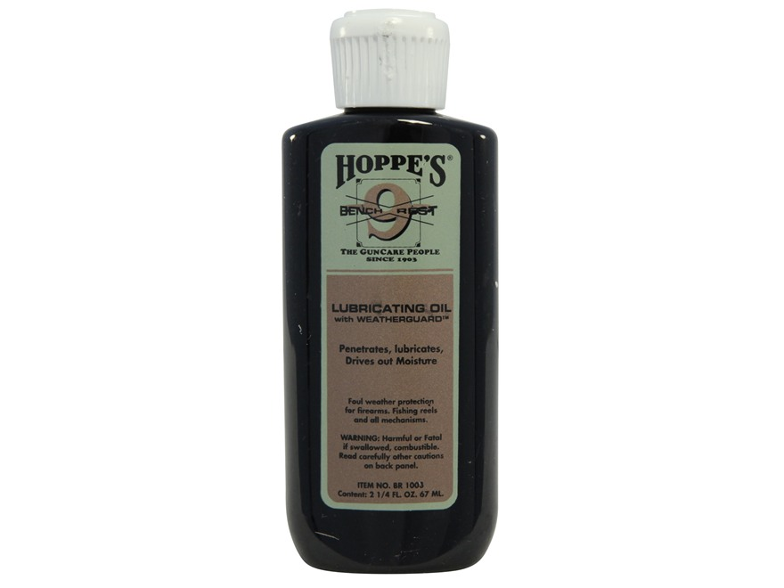 Hoppe's #9 Bench Rest Gun Oil with Weatherguard 2-1/4 oz Liquid