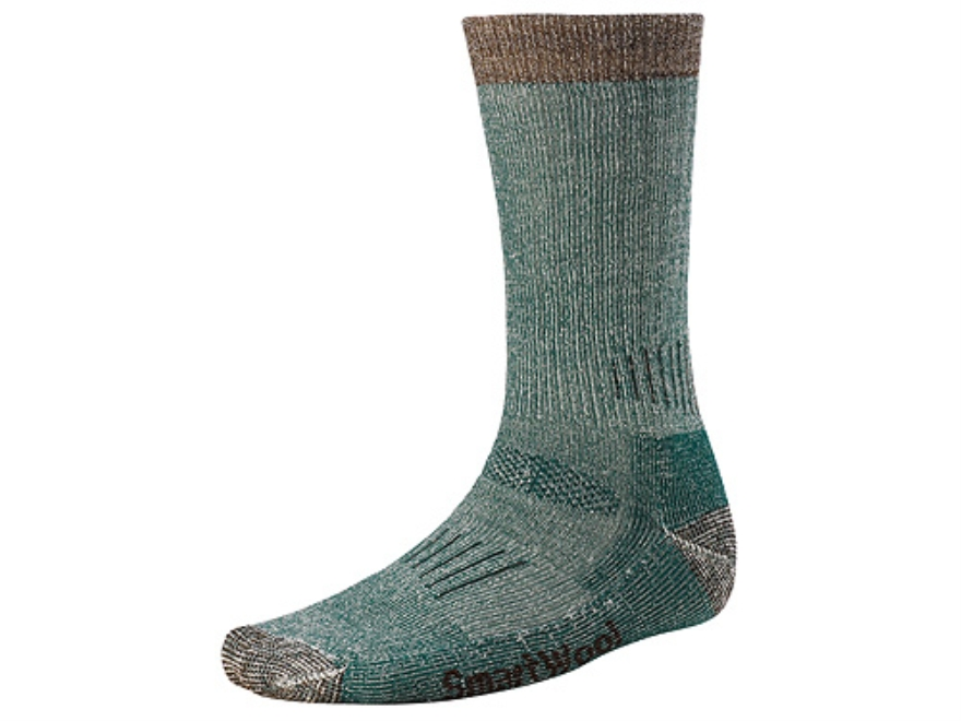 SmartWool Men's Hunting Midweight Crew Socks Wool Blend Loden Medium 6-8-1/2