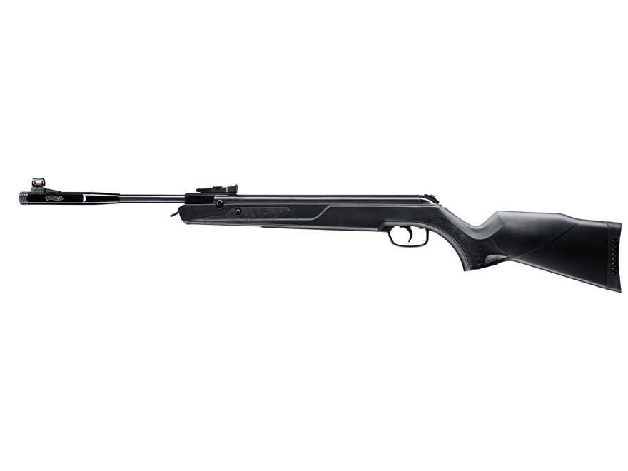 Walther LGV Ultra Air Rifle 22 Caliber Pellet Synthetic Stock Blue Barrel