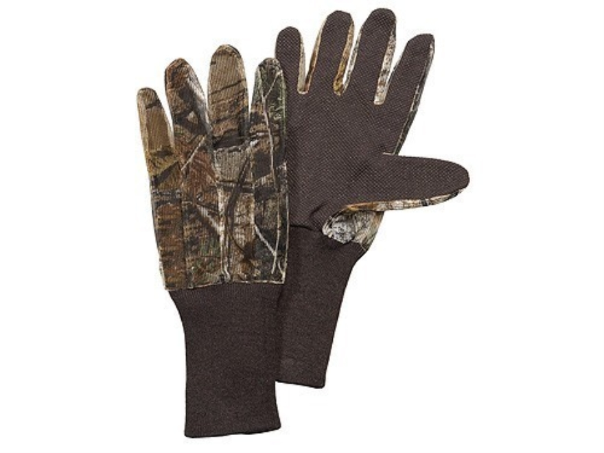 Hunter's Specialties Dot Grip Gloves Mesh Polyester Realtree AP Camo