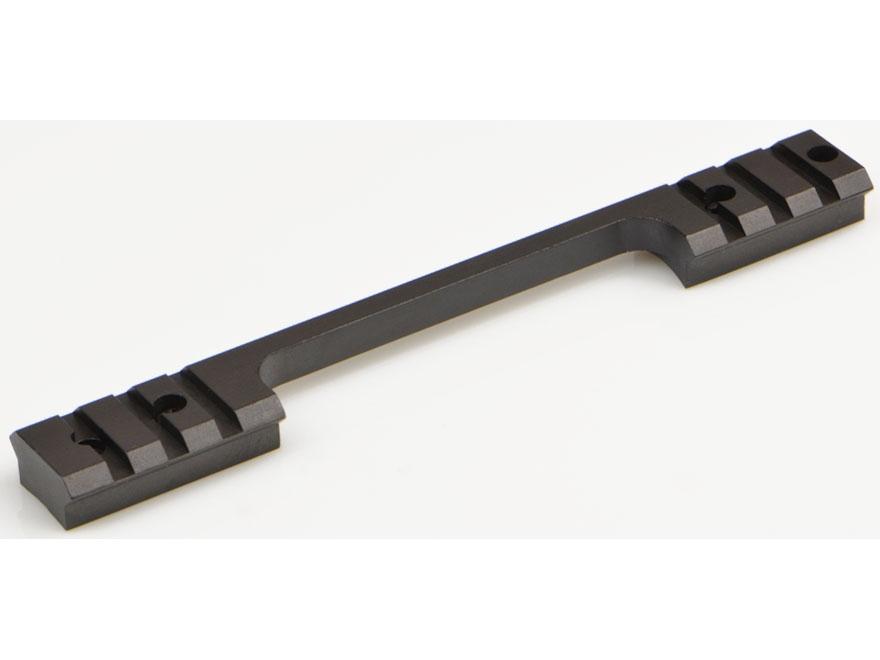Warne Maxima 1-Piece Steel Weaver-Style Scope Base Weatherby Vanguard Matte