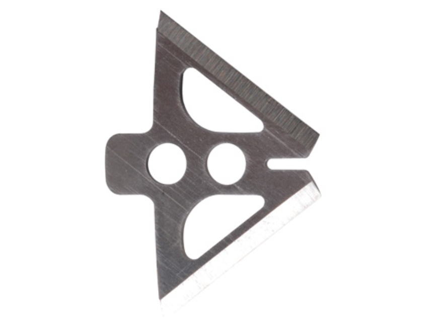 """Slick Trick 1"""" 85 Grain Extra Blades Broadhead Replacement Blades Stainless Steel Pack ..."""
