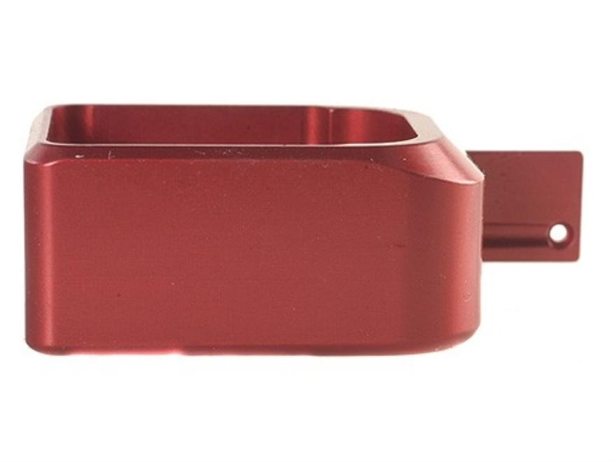 STI-Dawson Basepad +1 for STI-2011, SVI Magazine Anodized Aluminum Red