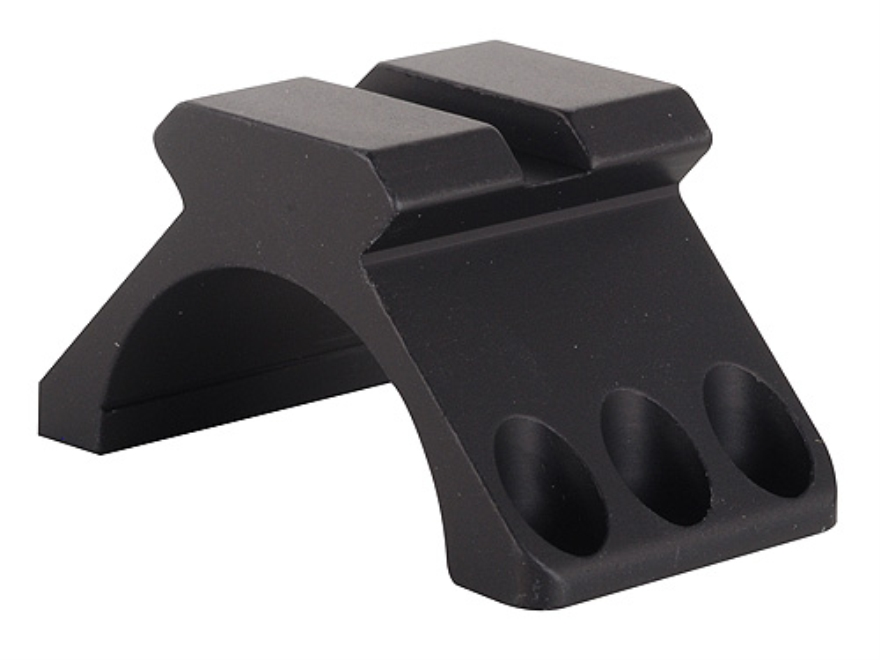 Weaver 30mm Tactical 6-Hole Ring Top with Picatinny-Style Accessory Rail Matte