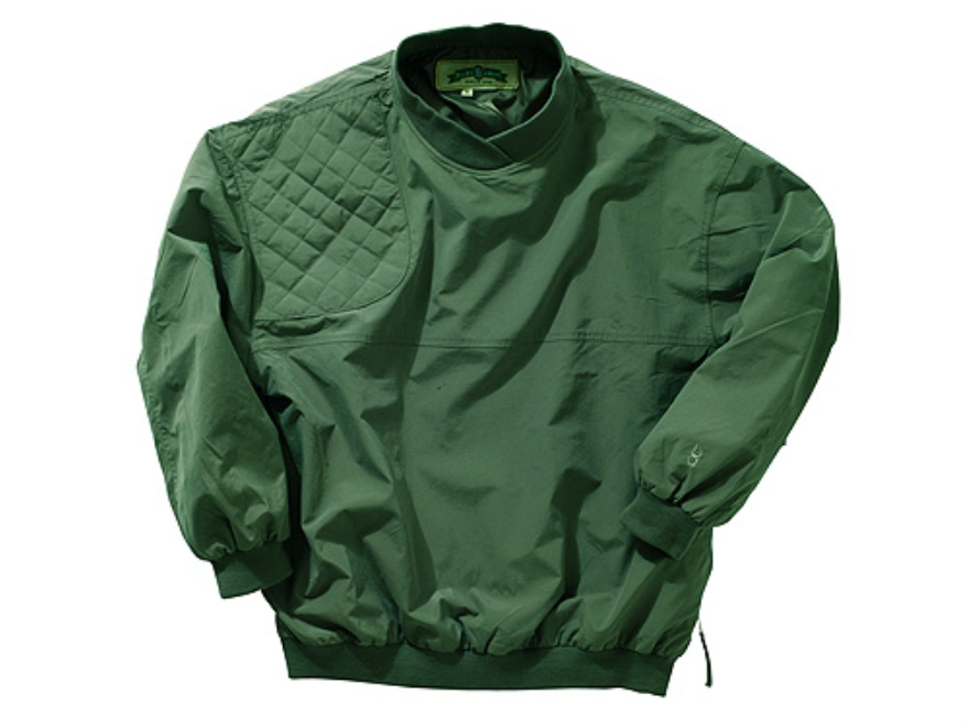 Bob Allen 161P Shooting Pullover Nylon Olive Large