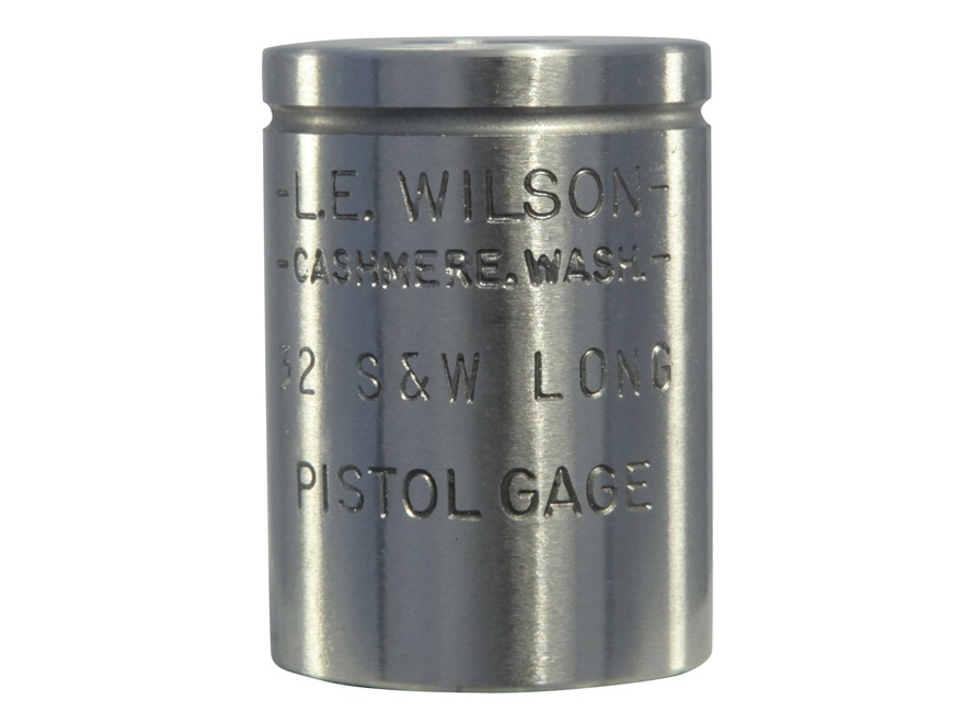 L.E. Wilson Max Cartridge Gauge 32 S&W Long, 32 New Colt Police