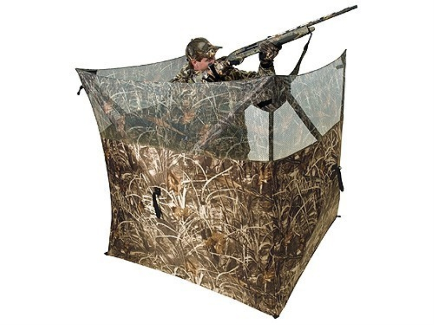 "Ameristep Field Hunter Ground Blind 57"" x 57"" Polyester Realtree Max-5 Camo"