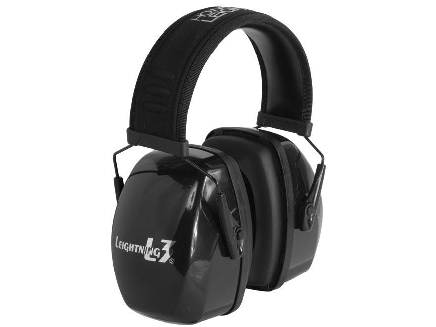 Howard Leight Leightning L3 Earmuffs (NRR 30 dB) Black