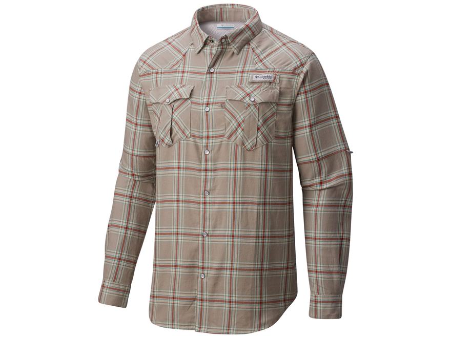 Columbia Men's Beadhead Flannel Shirt Long Sleeve Cotton