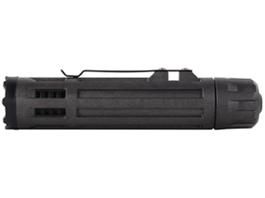 Inforce 6vx Flashlight LED with 2 CR123A Batteries Fiber Composite Black