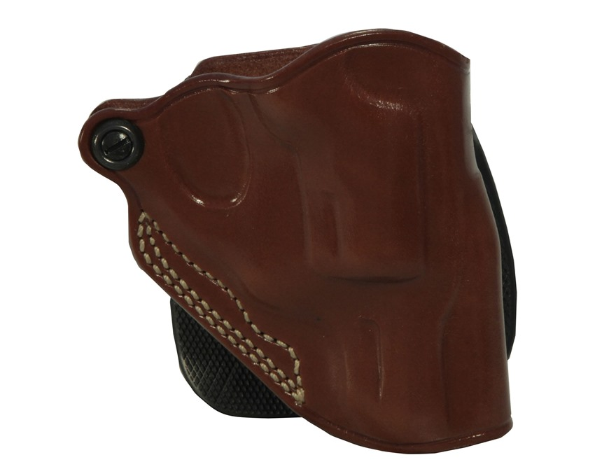Galco Speed Paddle Holster Ruger LCR Leather