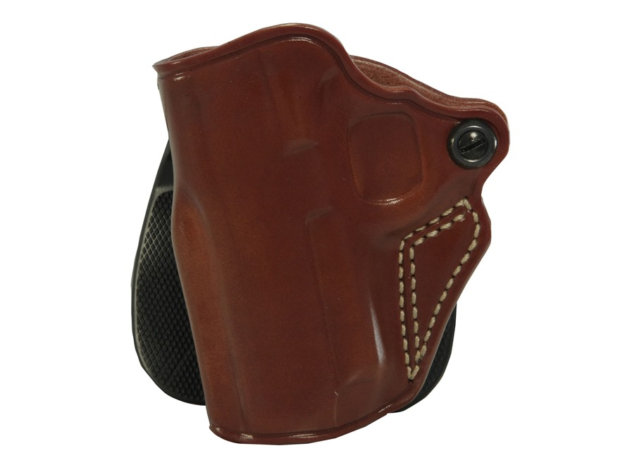 Galco Speed Paddle Holster 1911 Officer Leather