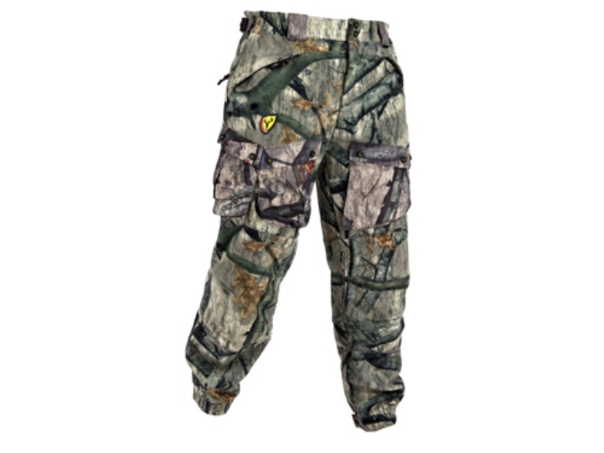 ScentBlocker Men's Dream Season Pro Fleece Pants Polyester Mossy Oak Treestand Camo XL ...