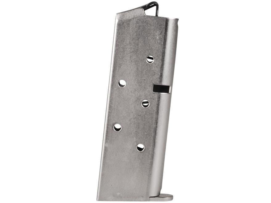 ProMag Magazine Sig Sauer P238 380 ACP 6-Round Steel Nickel Plated