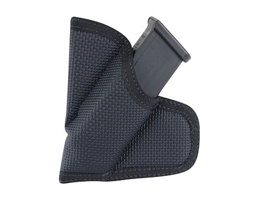 DeSantis Mag Packer Pocket Magazine Pouch 9mm to 40 S&W Single Stack Magazine Nylon Black
