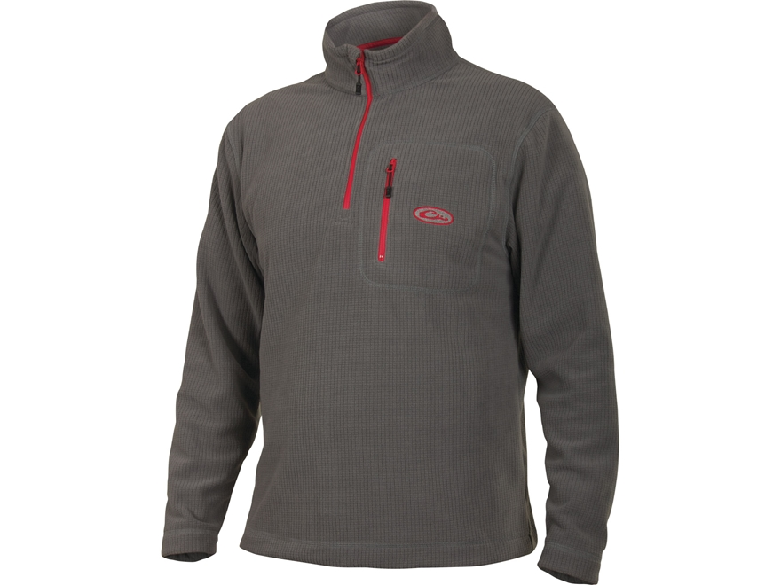 Drake Men's Square Check Camp Fleece Pullover - UPC: 659601163609