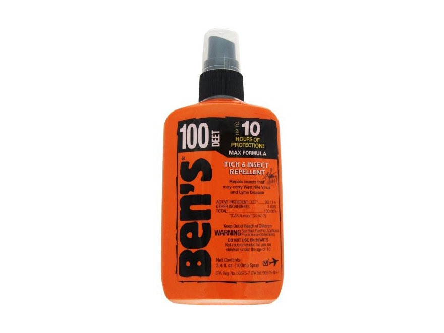 Ben's 100 MAX Deet Insect Repellent Spray 3.4 oz