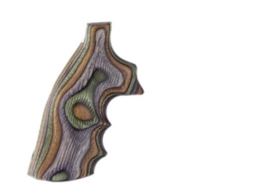 Hogue Fancy Hardwood Grips with Finger Grooves Ruger Redhawk