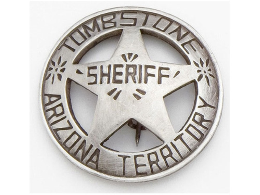 Collector's Armoury Replica Old West Deluxe Sheriff Tombstone Badge