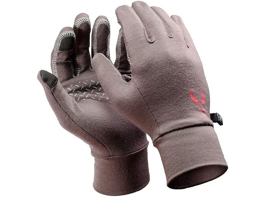 Badlands All-Season Liner Gloves Merino Wool Earth